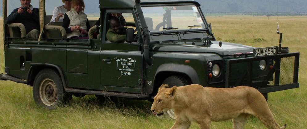 Masai Mara Game Drive – Kenya