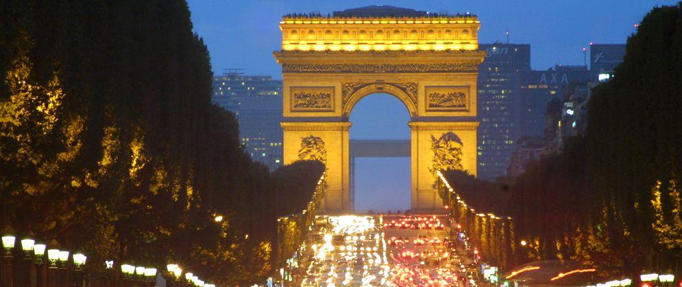 Champs-Elysees – Paris, France